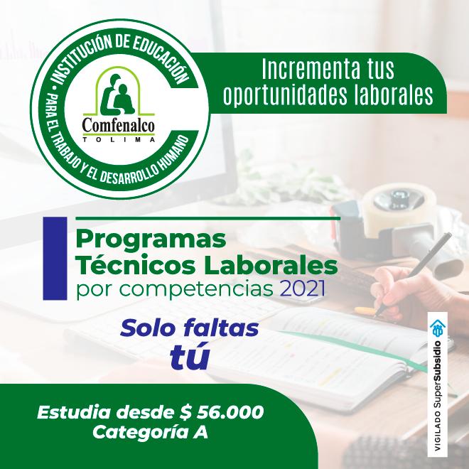 COMFENALCO TOLIMA 2020 lateral
