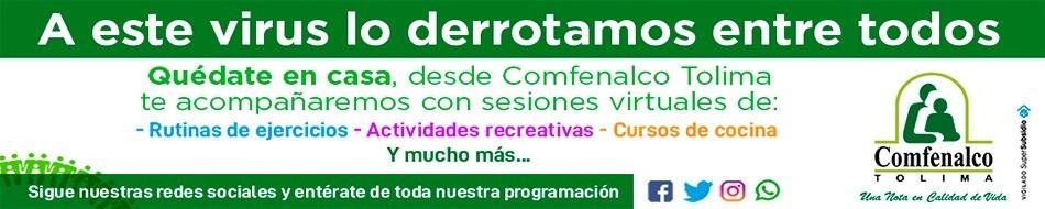 COMFENALCO TOLIMA 2020 banners