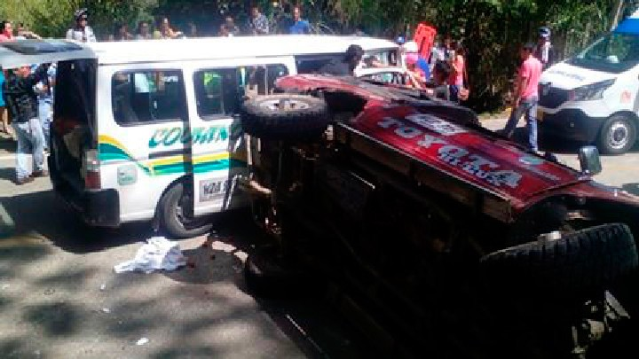 18 heridos en accidente en carreteras del Tolima