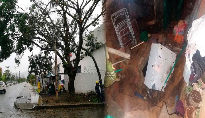 Lluvias prenden alarmas en Ibagué
