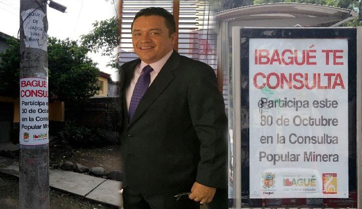 ¿Porqué se detuvo la consulta Minera en Ibagué?