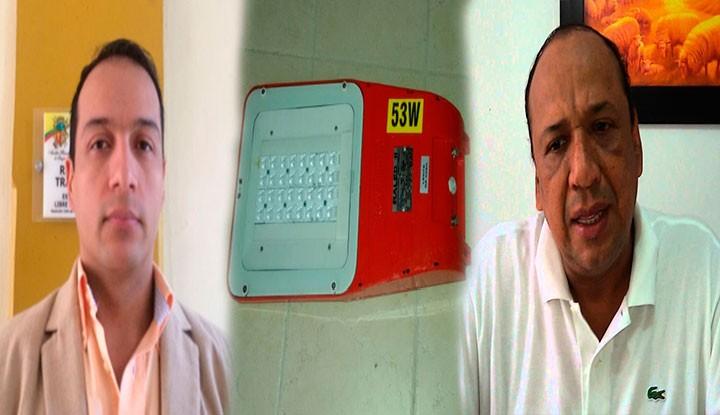 Anomalías en luminarias LED instaladas en Ibagué: Contralor