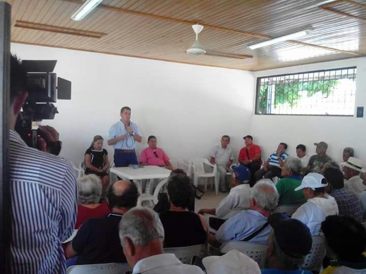 Exitosa correría del alcalde de el Espinal por las veredas