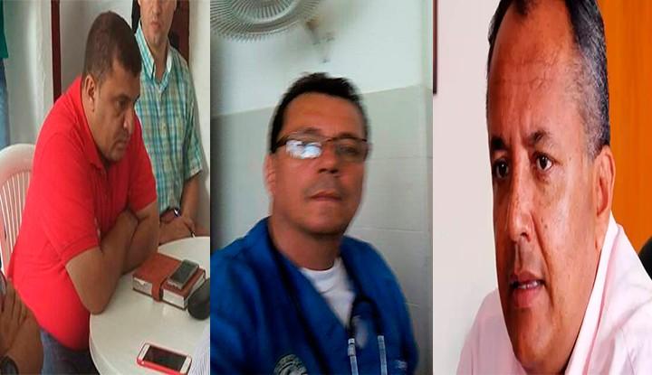 Gobernador y alcalde de Rovira llevan médico falso a brigada de salud