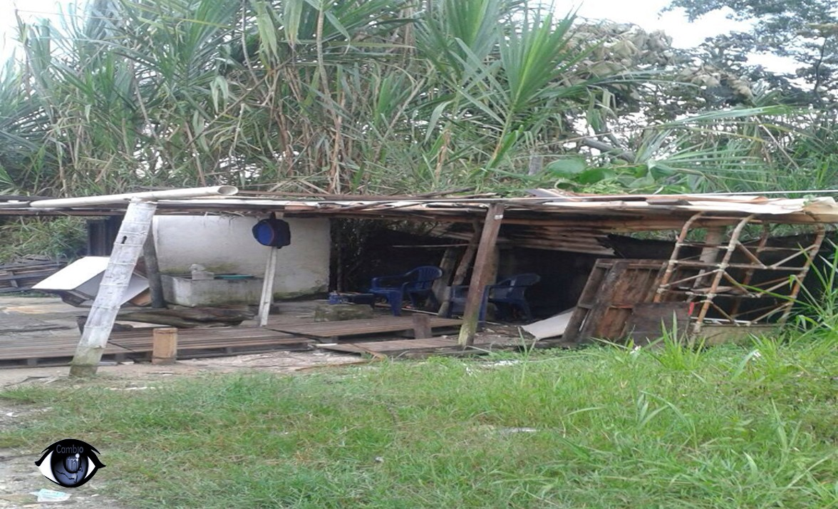 En un basurero, descansan conductores de Expresó Ibagué