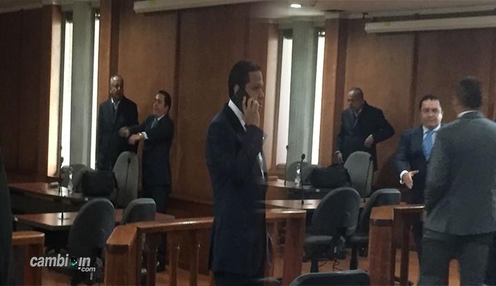 Así llegó gobernador del Tolima al tribunal superior de Bogotá
