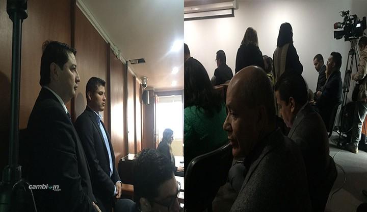 Servidores públicos, actuales Alcaldes y la totalidad de la familia del gobernador Barreto, hacen presencia en la audiencia de imputación de cargos