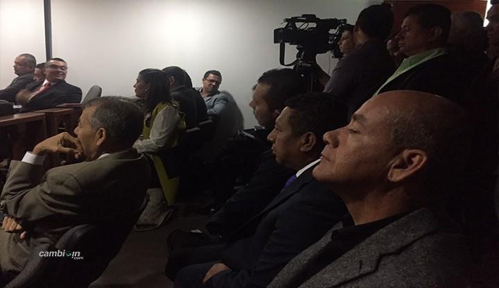 El Partido de la U y los Consevadores acompañan Barreto en la audiencia de  imputación de cargos