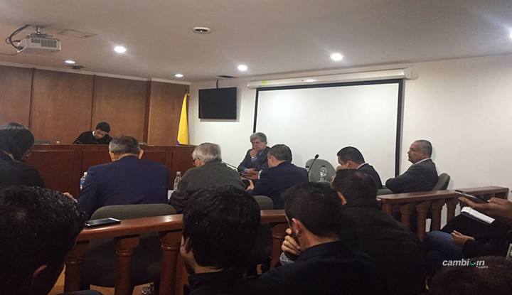 3 horas pidió fiscal para sustentar medida de aseguramiento contra Barreto y Osorio