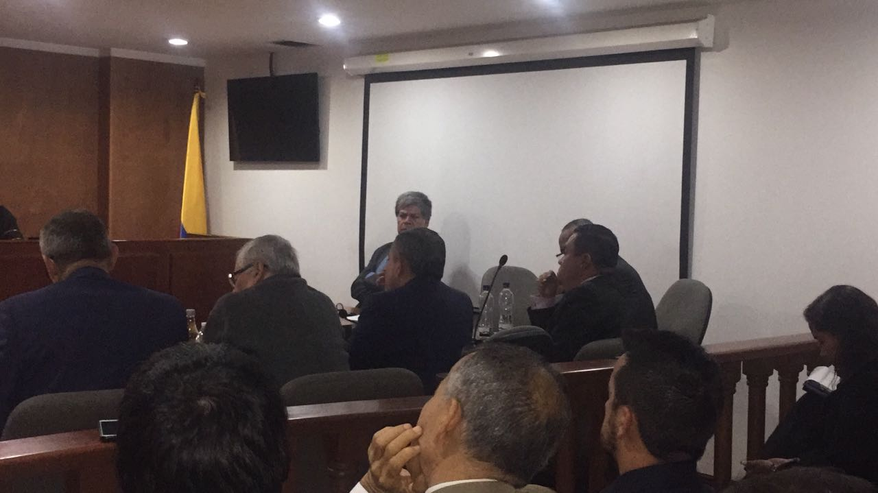 Medida de aseguramiento intramural a Barreto y Osorio, solicitó el fiscal primero delgado ante la Corte Constitucional al magistrado que estudia el caso.