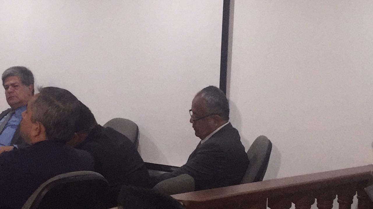 Reinició audiencia de imputación de cargos en contra del gobernador Oscar Barreto Quiroga y el exmandatario Fernando Osorio