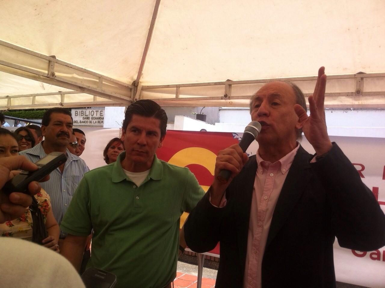 Nace la Formula RiCa, para Alcaldía y Gobernación, se van por firmas para no tener compromisos con los políticos