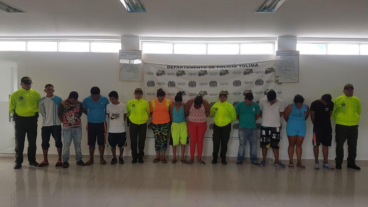 Utilizaban niños para tráficar drogas en el Tolima