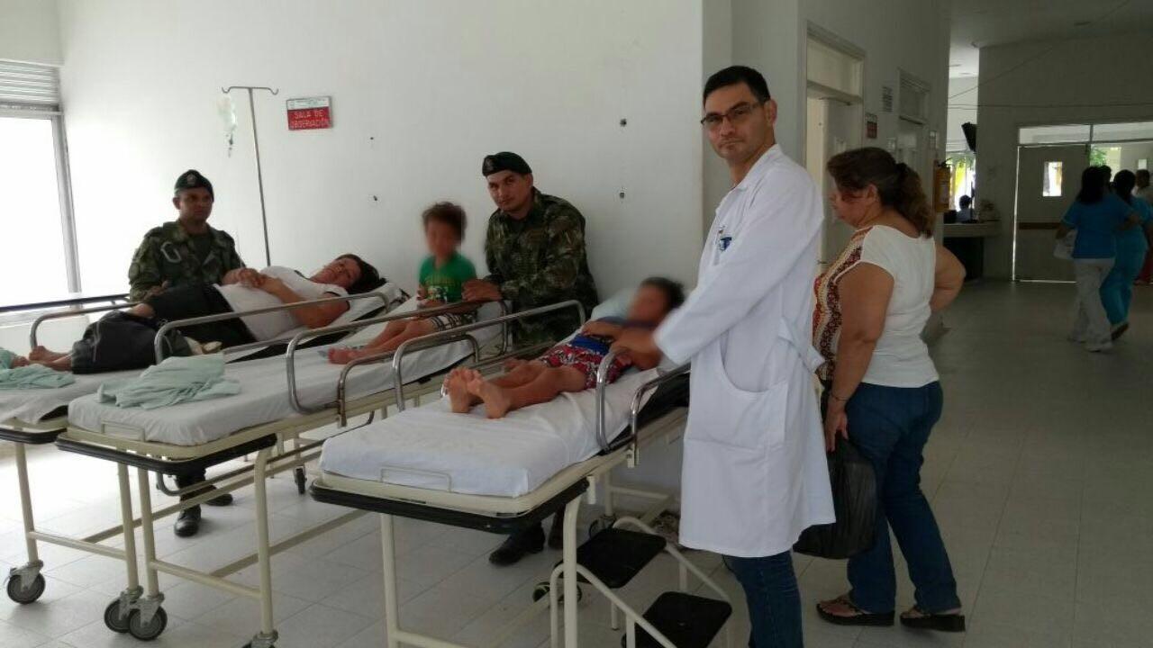 Ejército rescató tres personas extraviadas en Prado Tolima