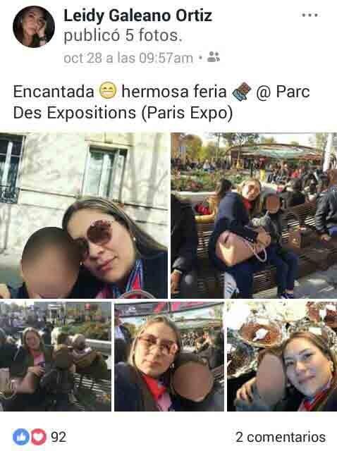 No viajo a París secretario de la Gobernación pero su esposa e hijo si