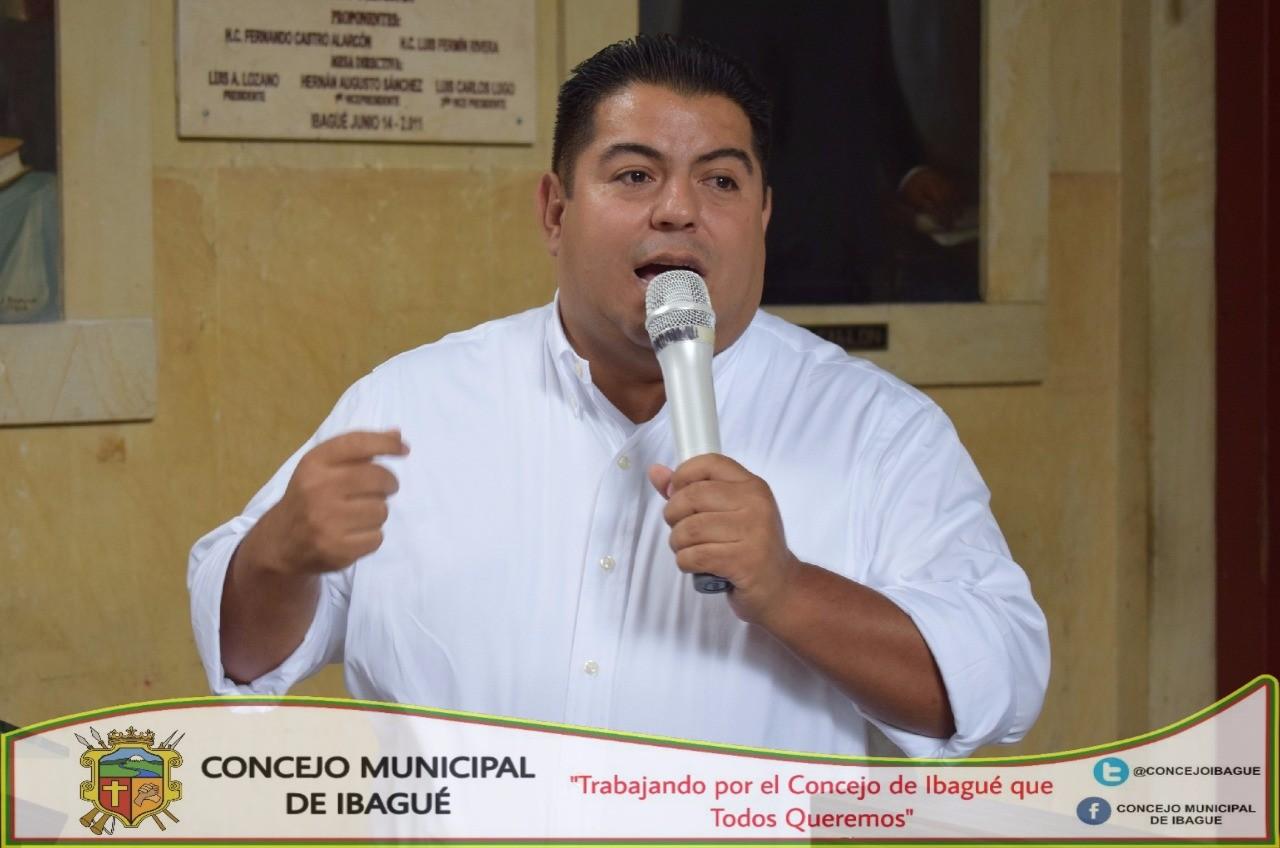 Cesar Geovanni Herrera será reelegido como nuevo Secretario General del Concejo de Ibagué.