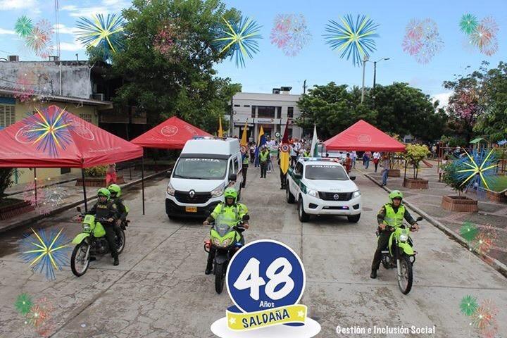 Alcaldía celebró por todo lo alto el cumpleaños No 48 de Saldaña.