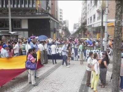 Hoy y mañana paran actividad los docentes en el Tolima, presionan para mejorar sistema de salud