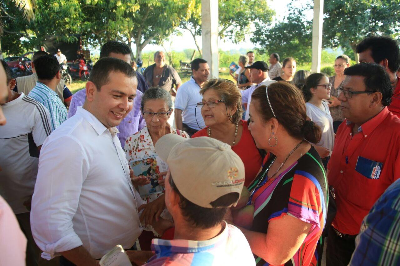 Ricardo Guarnizo, el gran dirigente político de Purificación,  está con Miguel Barreto