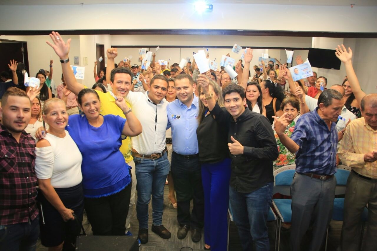 Candidato al Senado Barreto, ubicó 40 sedes en Colombia