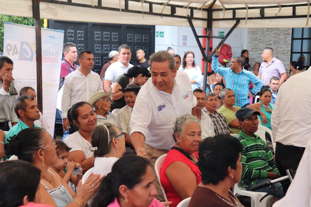 Cárdenas y Barreto siguen conquistando al Tolima de cara a las próximas elecciones legislativas