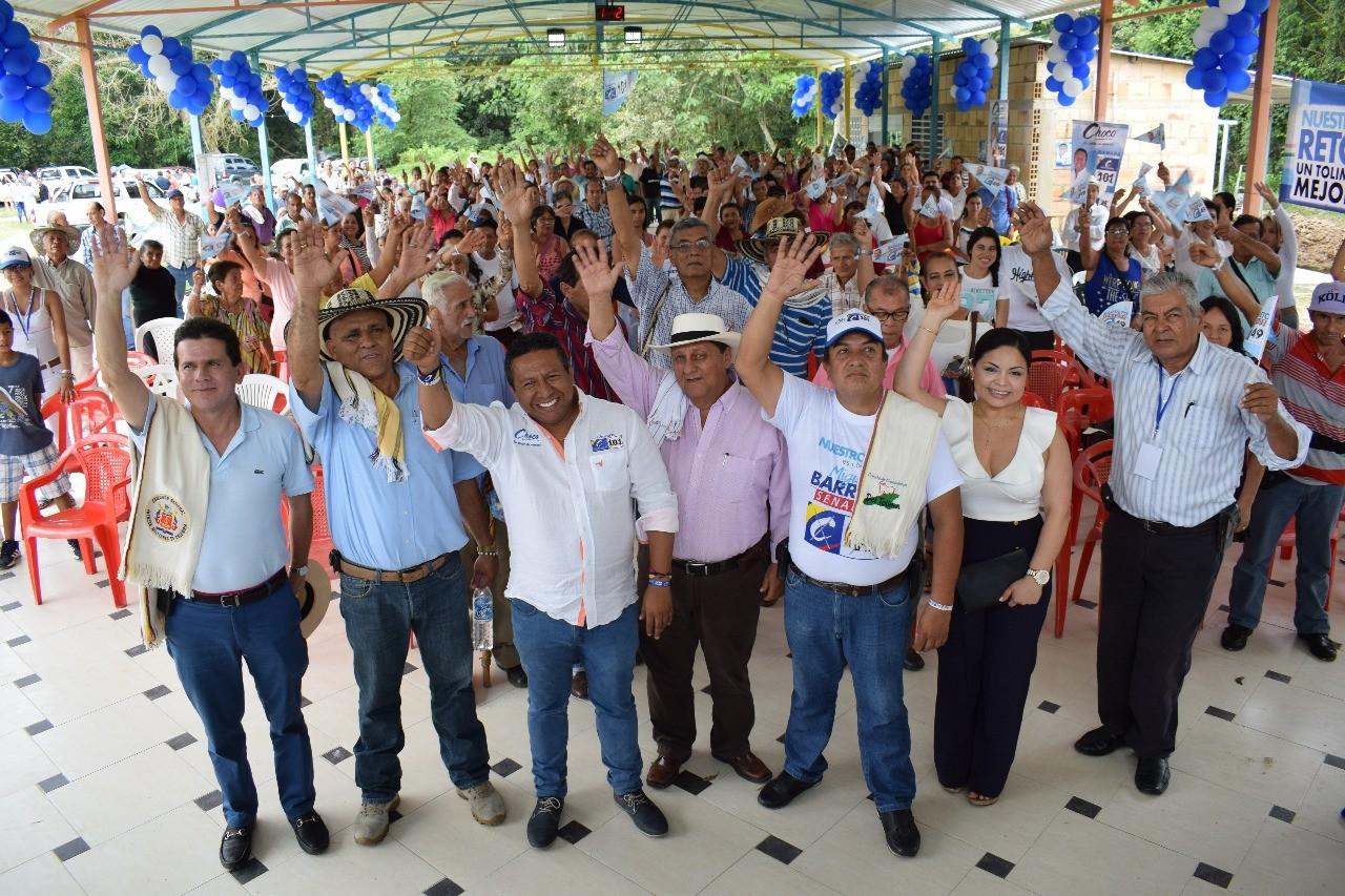 Choco cerrará campaña este viernes en Ibagué