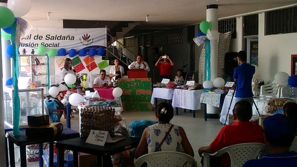 Por primera vez Alcaldía de Saldaña apoya proyectos productivos a víctimas de la violencia