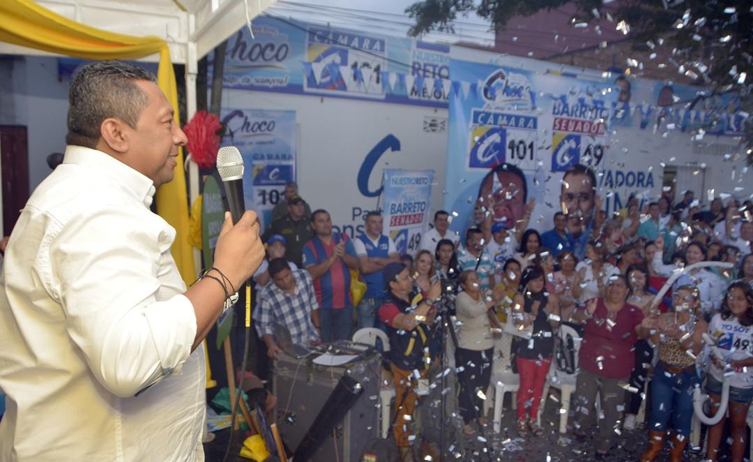 """Multitudinario cierre de campaña de José Elver Hernández Casas """"Choco"""""""