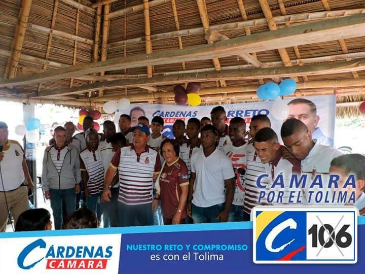 Leonor  Serrano y Gabriel Camargo confirmaron públicamente su respaldo a Hernando Cárdenas