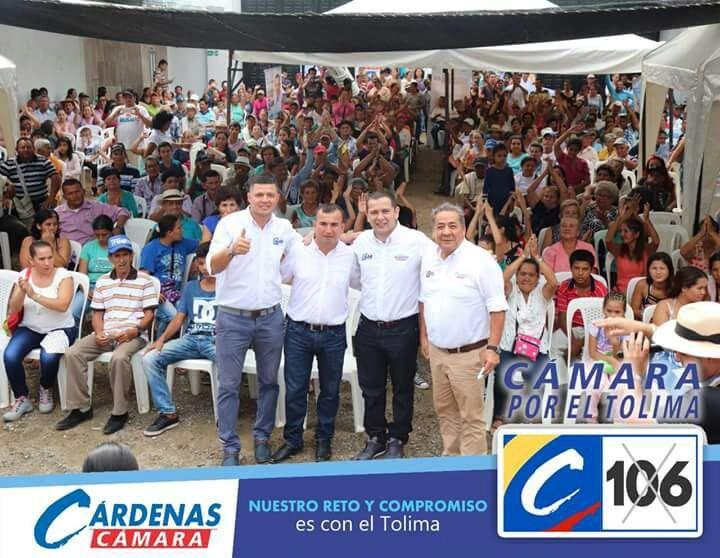 Cárdenas y Barreto se afianzan cada vez más para llegar al Congreso de la República