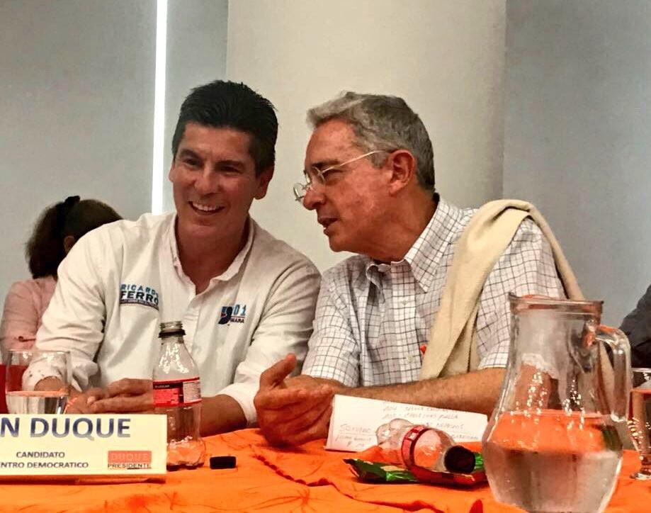 Ferro el favorito de Uribe a la cámara por el CD en Tolima