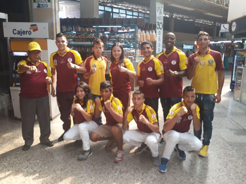 Boxeadores del Tolima debutan hoy en campeonato juvenil en Pasto