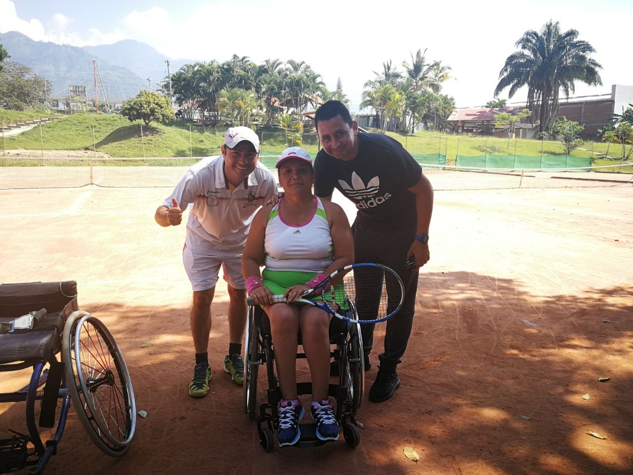 El Tolima se juega hoy su carta paralimpica en tenis