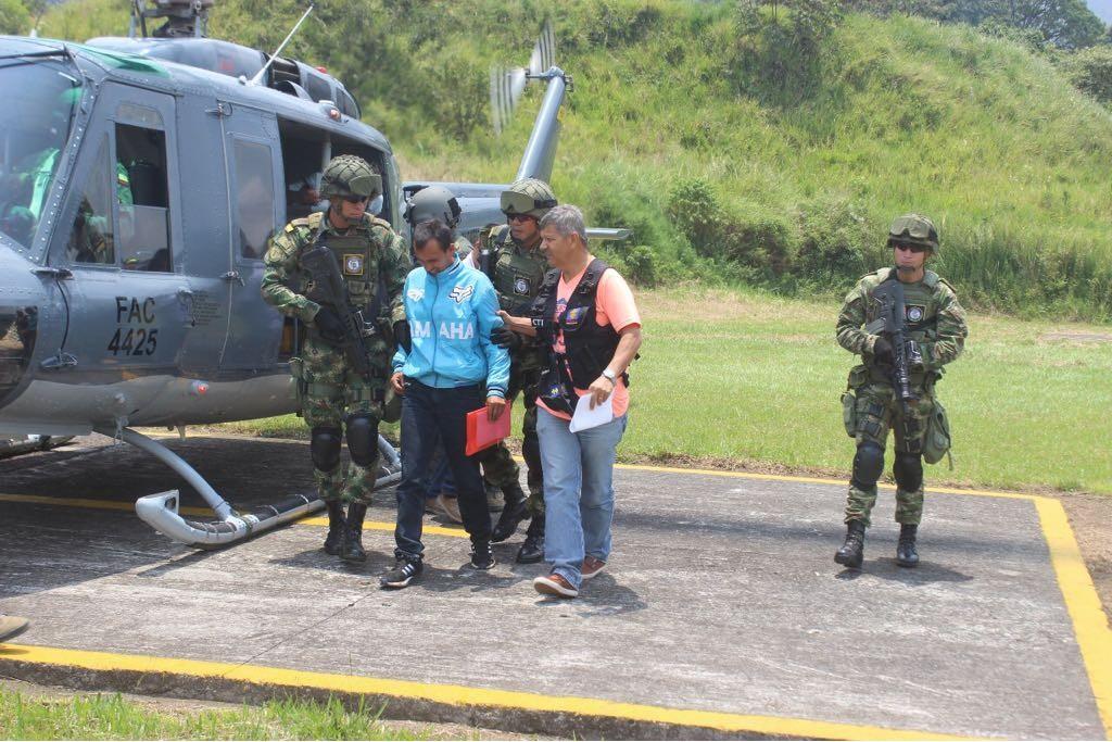 Ejército capturó al rey de la extorsión en el sur del Tolima