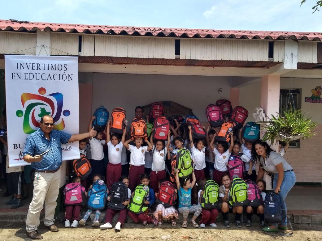 Alcaldía de Lérida y la empresa privada benefician los niños