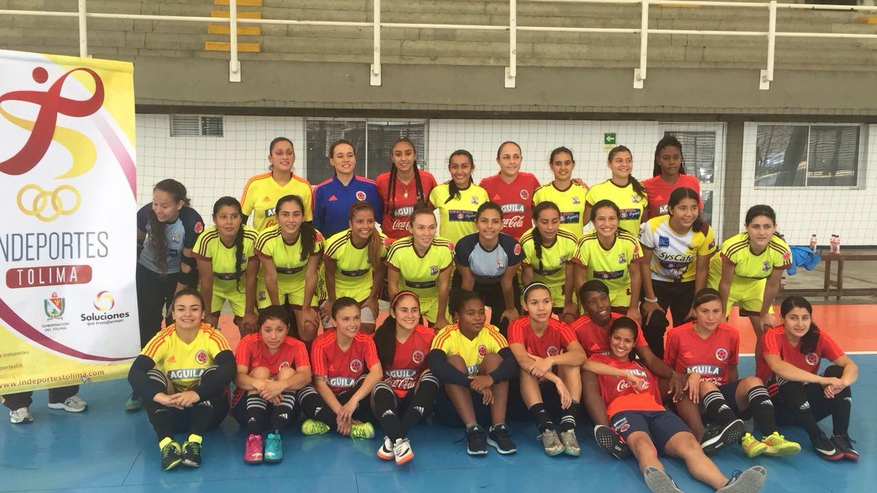 Selección sub 20 Tolima de futsal, comenzó su preparación