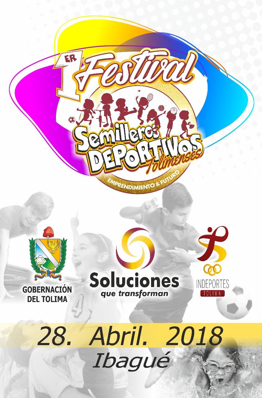 Participación histórica en festival departamental semillero deportivo