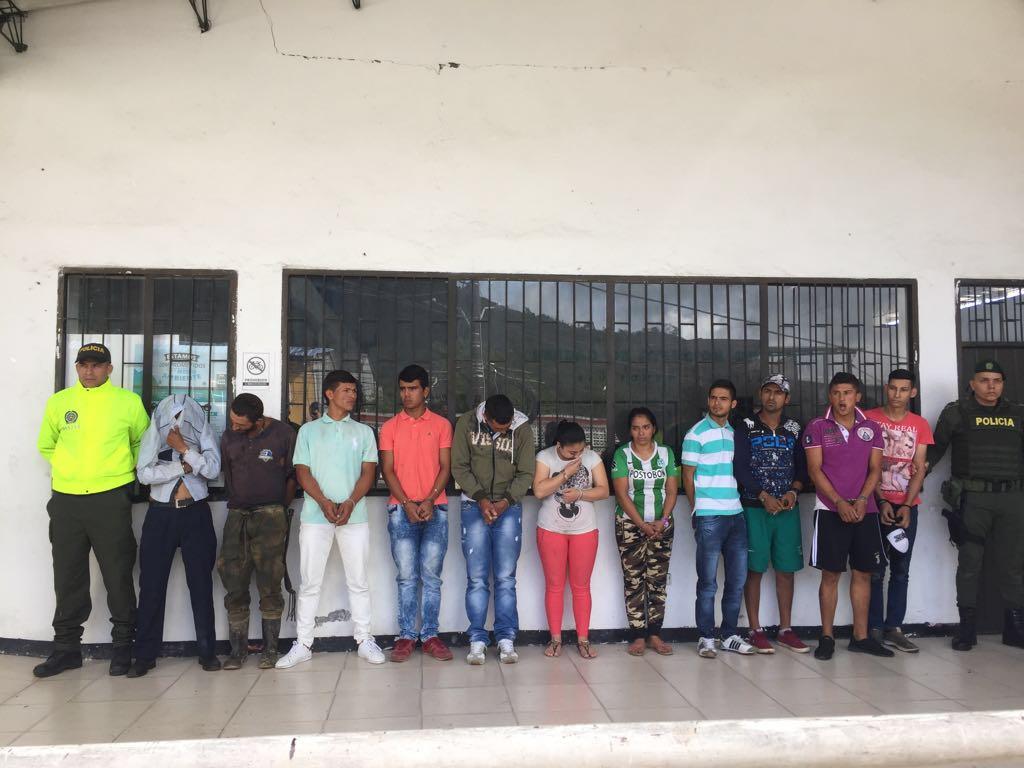 Los 12 delincuentes más peligrosos del norte del Tolima
