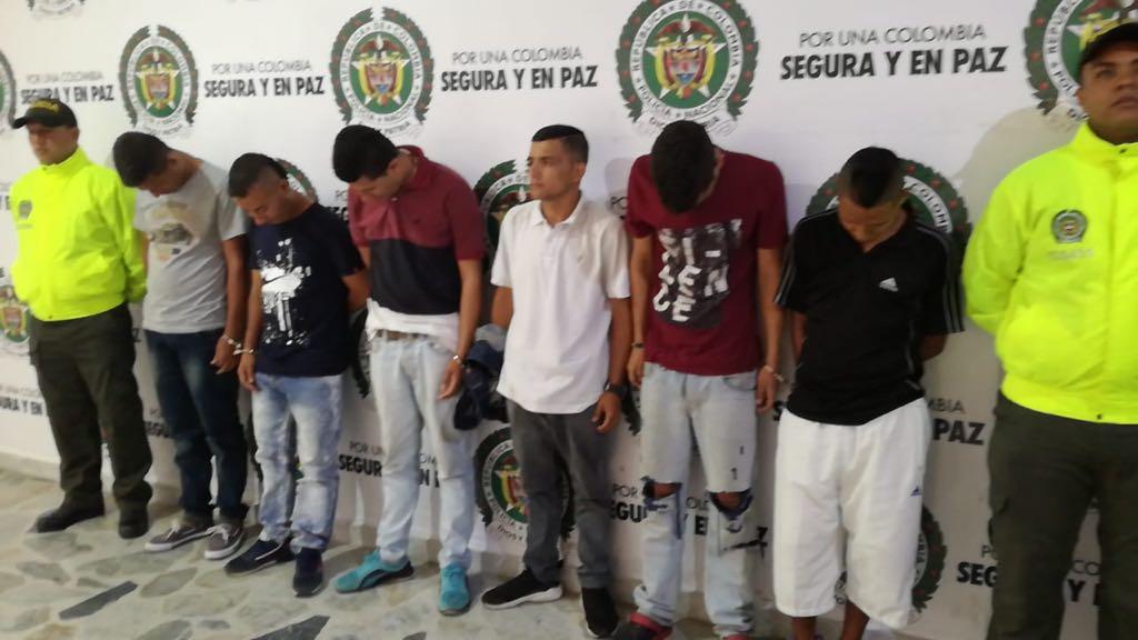 """Detenidos los """"Gaitanistas"""" en Ibagué"""