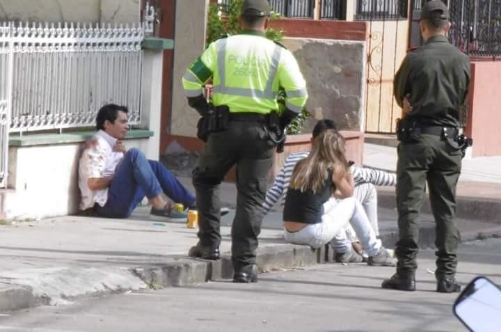 Miércoles negro en Ibagué,  hombre mató a su suegro y tuvo en vilo a la policía por varias horas porque pretendía suicidarse