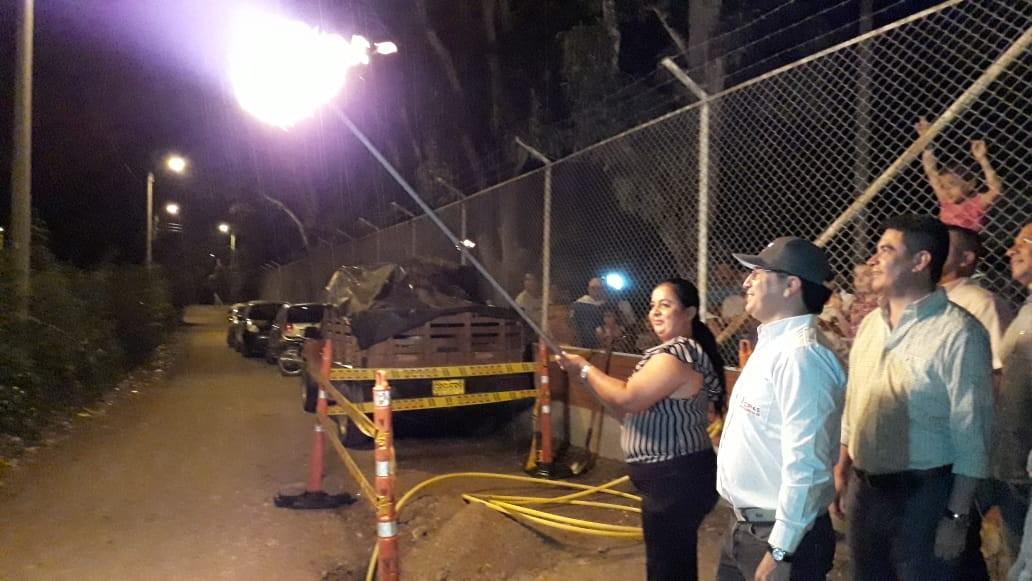 Alcalde de El Espinal cumplió llevando gas a zona rural