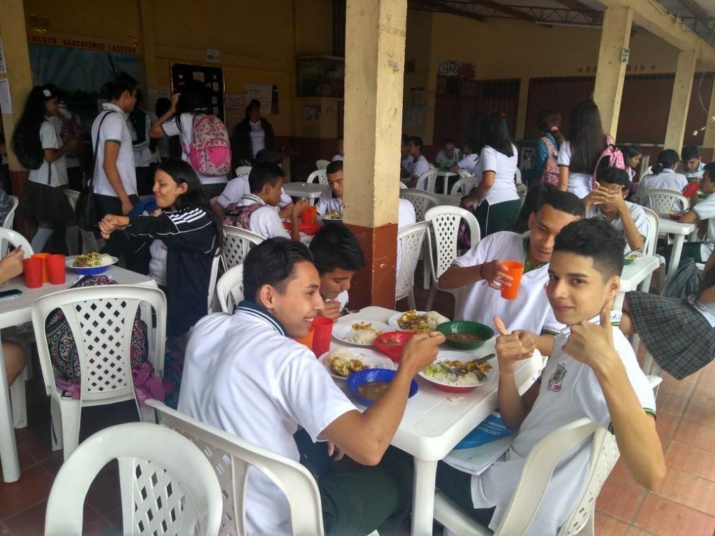 Alimento escolar gratuito en Ibagué el mejor a nivel nacional