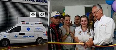 Las 5 ambulancias fantasmas del alcalde de Ibagué