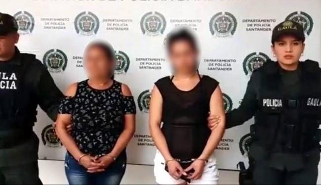 Caen 2 mujeres en el Tolima, cuando cobraban extorsión