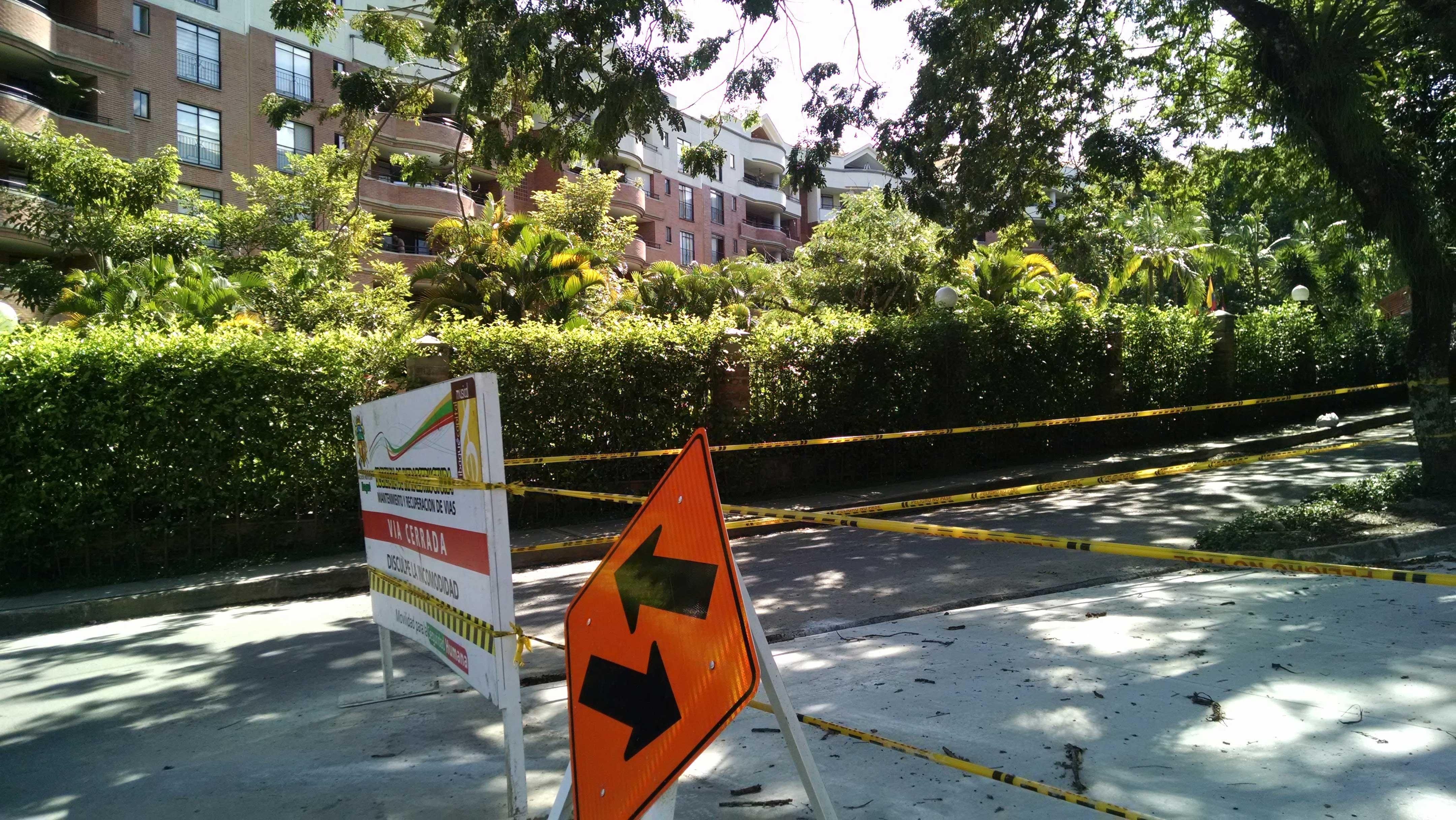 Así están quedando las calles del Alcalde, se ejecutaron plata del programa gestión compartida