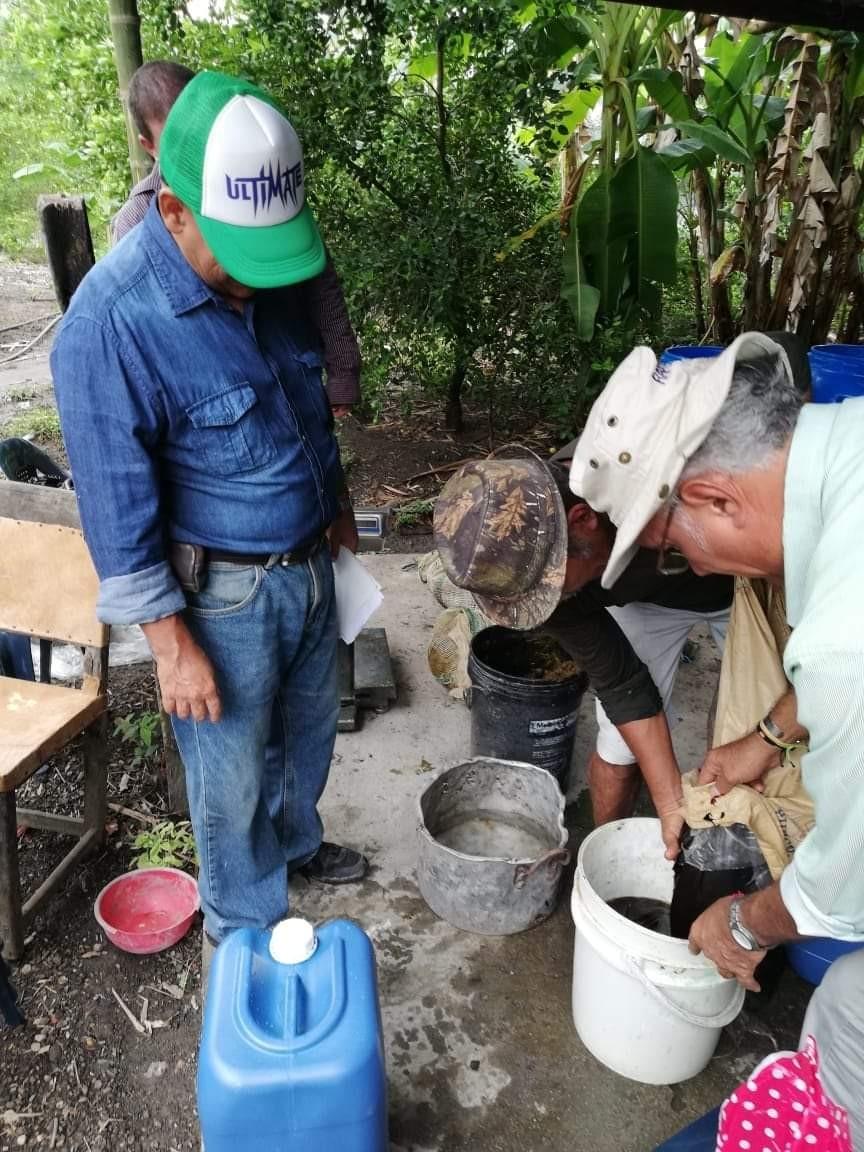 Familias de la vereda Coyarcó se capacitan en elaboración de huertas caseras