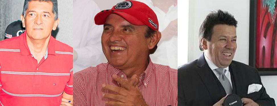 Jaramillo apadrinó a Luis h y Orlando Arciniegas