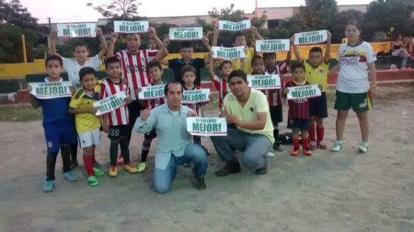 Cae en desgracia político del Tolima por utilizar niños para promocionar su campaña