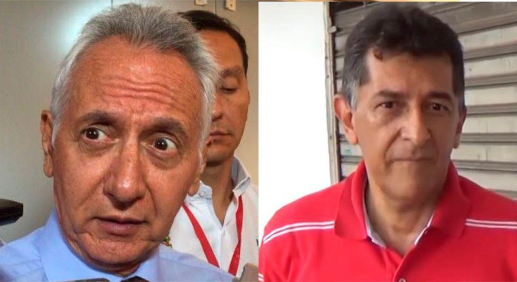 Jaramillo, destruyó colegios, y Luis H, escenarios deportivos de Ibagué