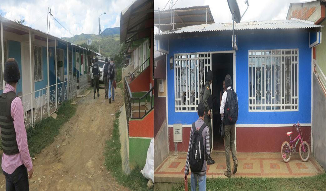 El Barrio que el estado le hizo a la guerrilla en Planadas Tolima